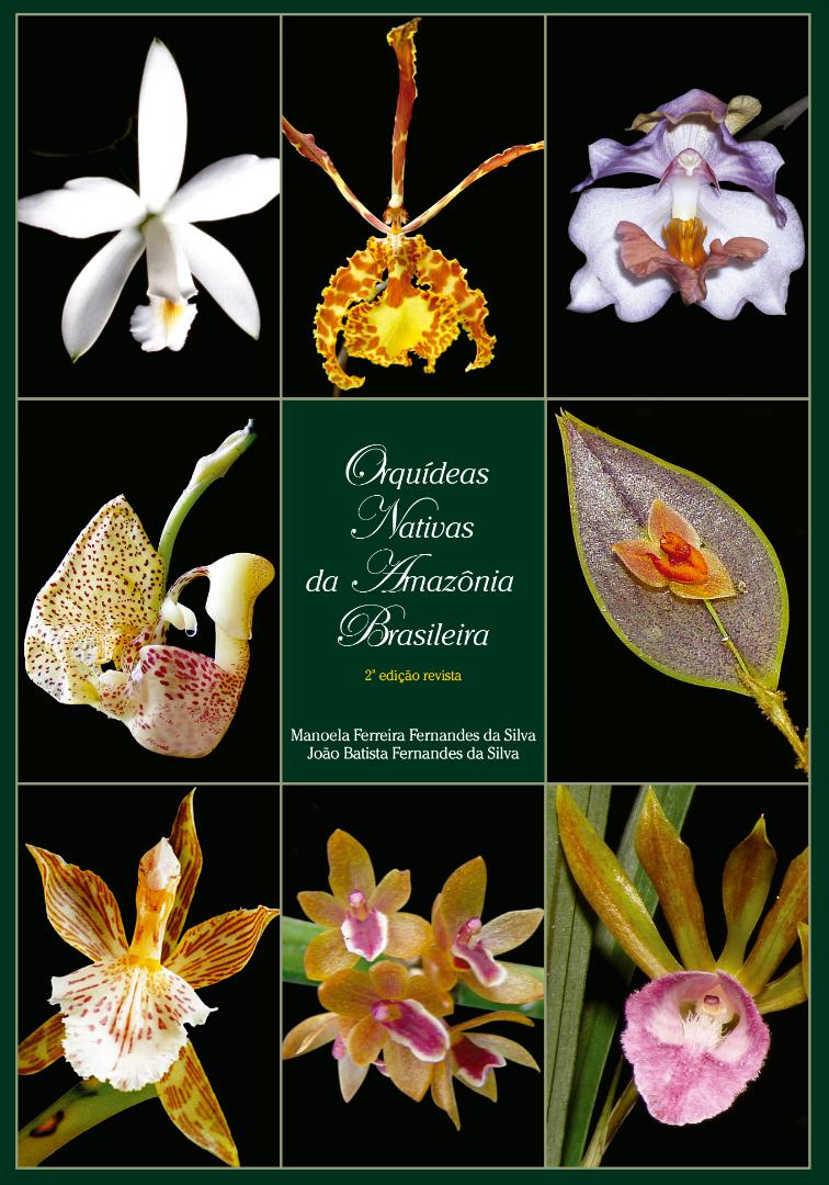 Orquídeas Nativas da Amazônia Brasileira II - Capa.png