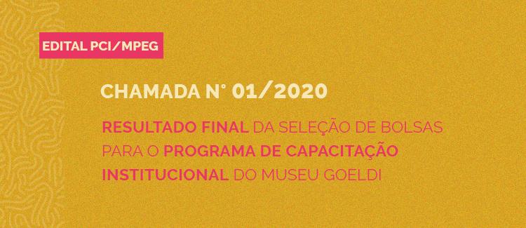 Confira o resultado final do PCI MPEG 2021