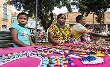 Entre os dias 23 e 28 de abril, no Parque Zoobotânico, será realizada a Semana dos Povos Indígenas do Museu Goeldi, com uma programação marcada por trilhas ecológicas, vendas de artesanato e diversas atividades lúdicas. Neste ano, o evento conta com a participação dos indígenas Warao.