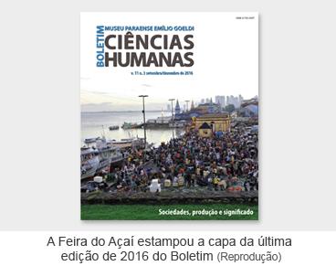A Feira do Açaí estampou a capa da última edição de 2016 do Boletim