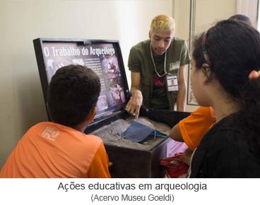 Ações educativas em arqueologia