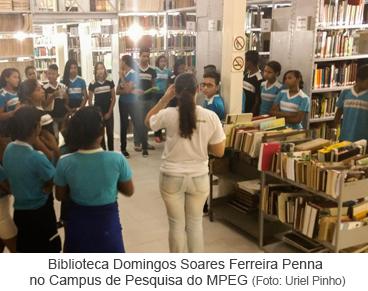 Biblioteca Domingos Soares Ferreira Penna no Campus de Pesquisa do MPEG