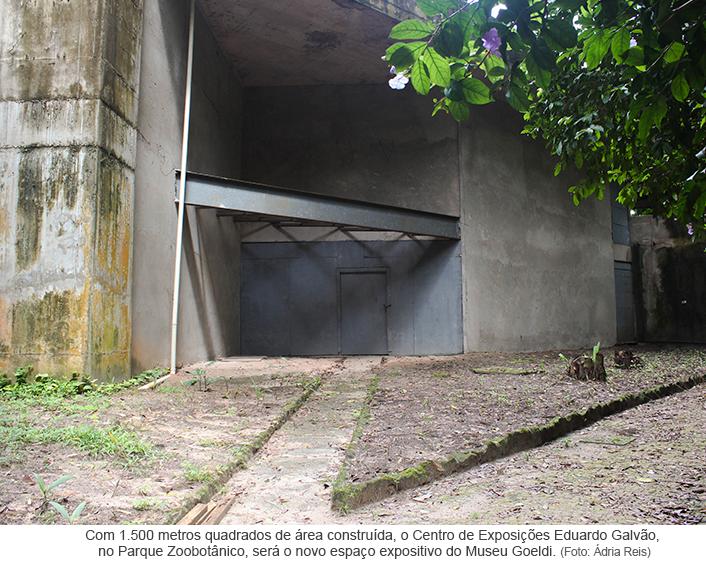 Museu Goeldi reinicia obra do Centro de Exposições Eduardo Galvão