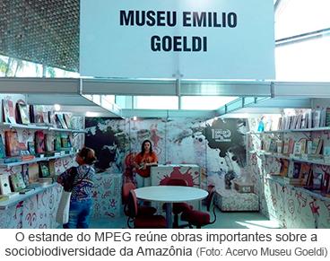Museu Goeldi na 22ª Feira Pan-Amazônica do Livro