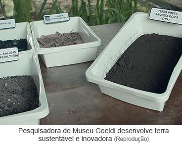Pesquisadora do Museu Goeldi desenvolve terra sustentável e inovadora