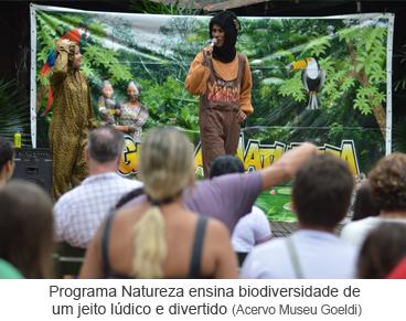 Programa Natureza ensina biodiversidade de um jeito lúdico e divertido