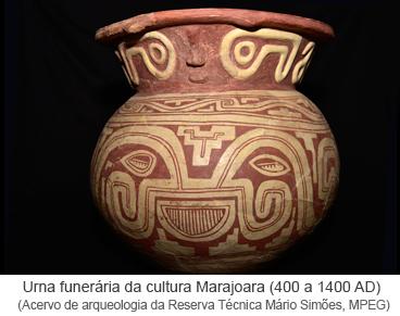 Urna funerária da cultura Marajoara