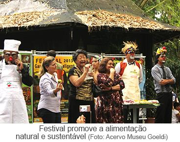 Festival promove a alimentação natural e sustentável