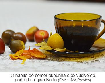 O hábito de comer pupunha é exclusivo de parte da região Norte