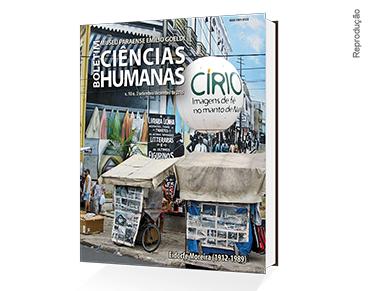 Capa da edição do Boletim de Ciências Humanas