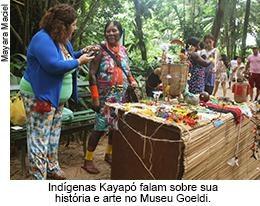 Indígenas Kayapó falam sobre sua história e arte no Museu Goeldi