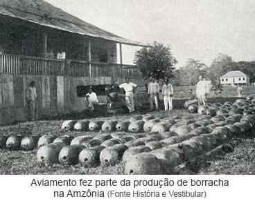 Aviamento fez parte da produção de borracha na Amazônia