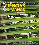 Capa do Boletim de Ciências Humanas 2015