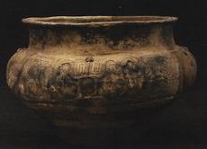 Urna funerária em cerâmica Koriabo