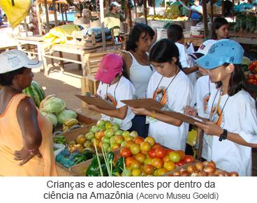 Crianças e adolescentes por dentro da ciência na Amazônia