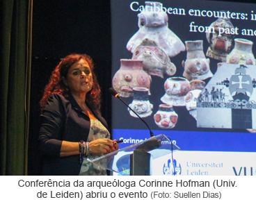Conferência da arqueóloga Corinne Hofman segunda edição da Oficina Cerâmicas Arqueológicas da Amazônia