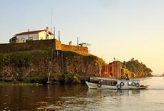 Escavações no Forte de Santo Antônio de Gurupá