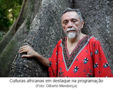 Culturas africanas em destaque na programação