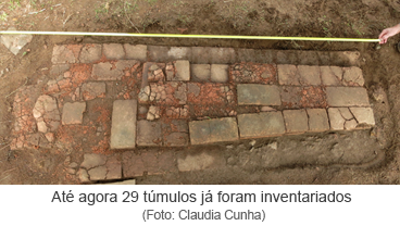 Até agora 29 túmulos já foram inventariados