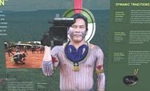 Exposição kayapo warrior