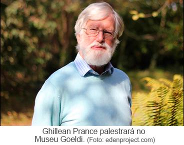Ghillean Prance palestrará no Museu Goeldi