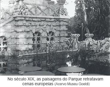 No século XIX, as paisagens do Parque retratavam cenas europeias