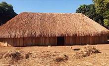Casa permite o necessário isolamento dos indígenas infectados