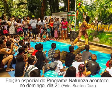 Edição especial do Programa Natureza
