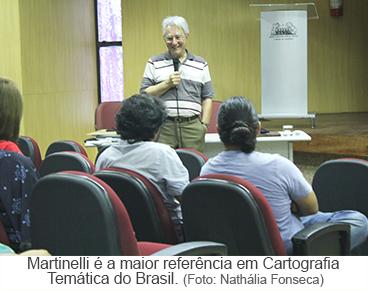 Martinelli é a maior referência em cartografia temática do Brasil