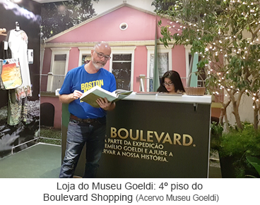 Loja do Museu Goeldi 4º piso do Boulevard Shopping