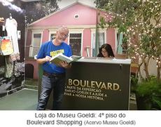 Loja do Museu Goeldi 4º piso do Boulevard Shopping