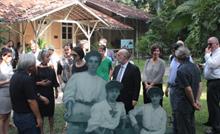 Os diplomatas saúdam as parcerias históricas com a instituição científica mais antiga da Amazônia e sinalizam interesse em novas cooperações