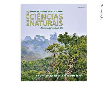 Capa do Boletim de Ciências Naturais volume 11 número 3