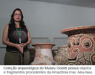 Coleção arqueológica do Museu Goeldi possui objetos e fragmentos procedentes da Amazônia