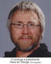 O ecólogo e palestrante Hans ter Steege