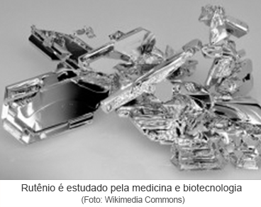 Rutênio é estudado pela medicina e biotecnologia