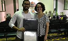 O mestrando do Programa de Pós-Graduação em Botânica Tropical, Fúvio Rubens Oliveira da Silva, recebeu honra ao mérito por suas publicações sobre briófitas durante o triênio de 2016 a 2018.