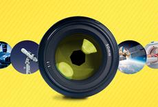 Identidade visual do Prêmio Fotografia-Ciência e Arte