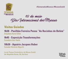 Cartão Dia Internacional de Museus