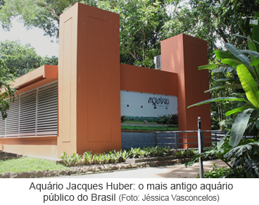 Aquário Jacques Huber - o mais antigo aquário público do Brasil