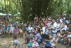 Crianças participam da Semana Nacional de Ciência e Tecnologia