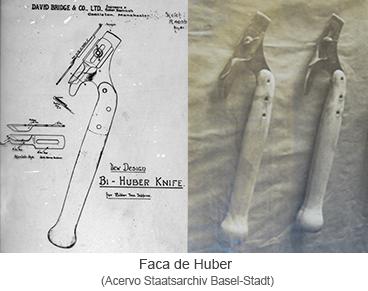 Faca de Huber