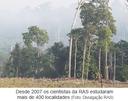 Desde 2007 os cientistas da RAS estudaram mais de 400 localidades
