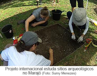 Projeto internacional estuda sítios arqueológicos no Marajó