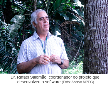 Dr. Rafael Salomão coordenador do projeto que desenvolveu o software