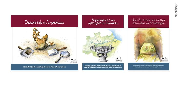 Livros Arqueologia nas escolas - histórias da Amazônia