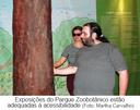 Exposições do Parque Zoobotânico estão adequadas à acessibilidade